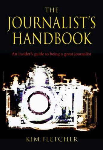 Kim Fletcher - frontcover of Journalist Handbook